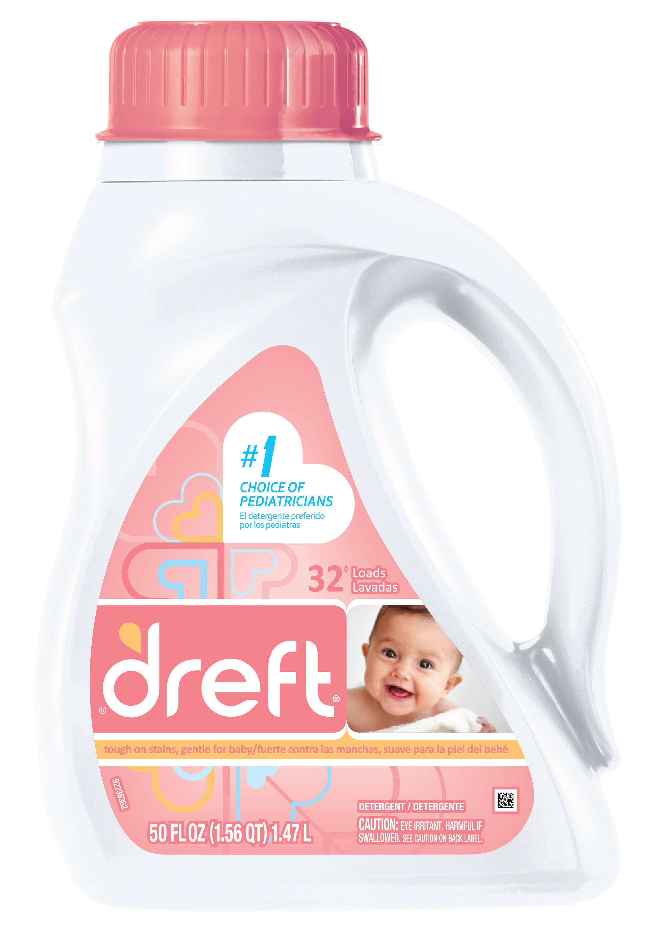 Dreft Baby Laundry Detergent Review and Giveaway