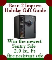 Win the Newest Sentry Safe in the Born2Impress Holiday Gift Guide