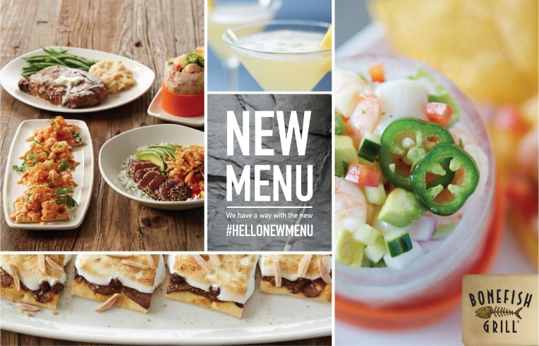Dinner is on us try the new bonefish grill menu giveaway for Fish bone grill menu