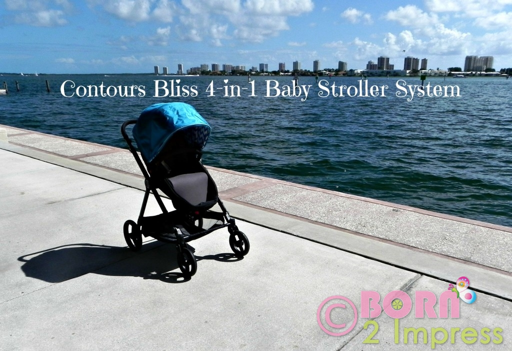 Contours Bliss 4-in-1 Baby Stroller System